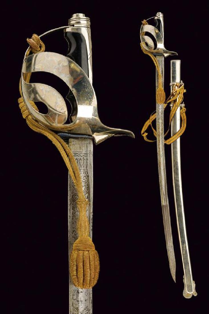 A cavalry officer's sabre