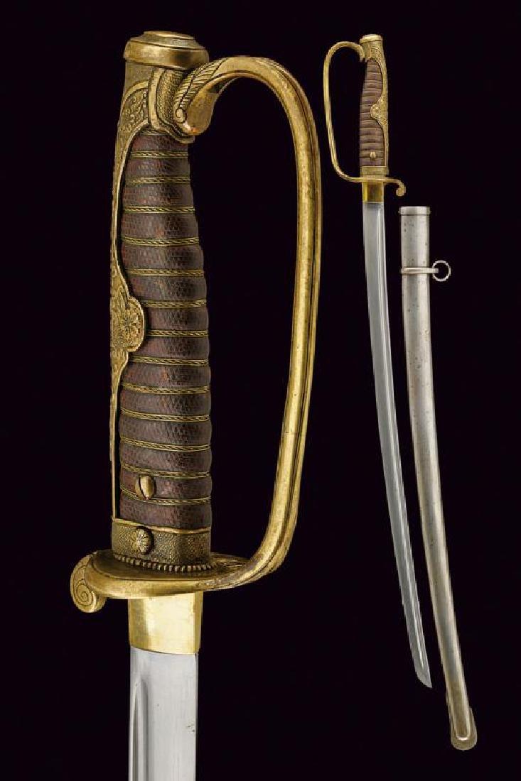 An officer's sword
