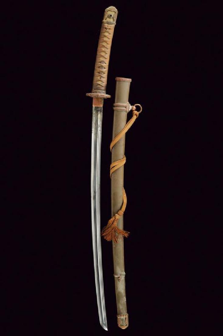 An 1894/98 model shin gunto officer's katana - 4