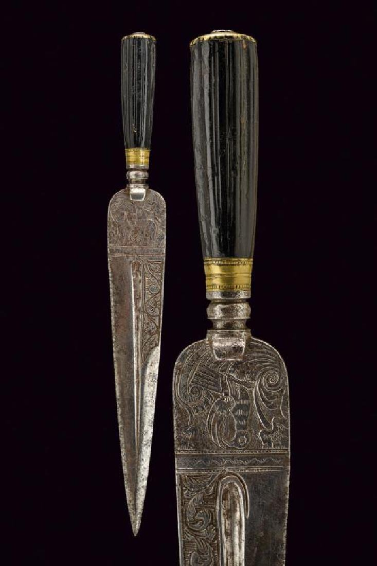 A hunting dagger