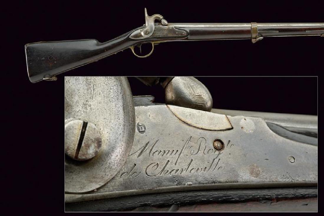 A 1816 model percussion gun