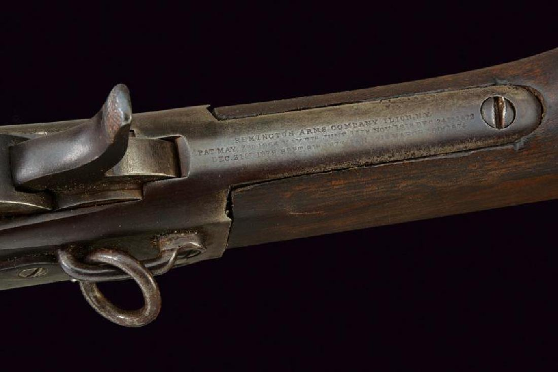 A cavalry Remington falling block rifle - 4