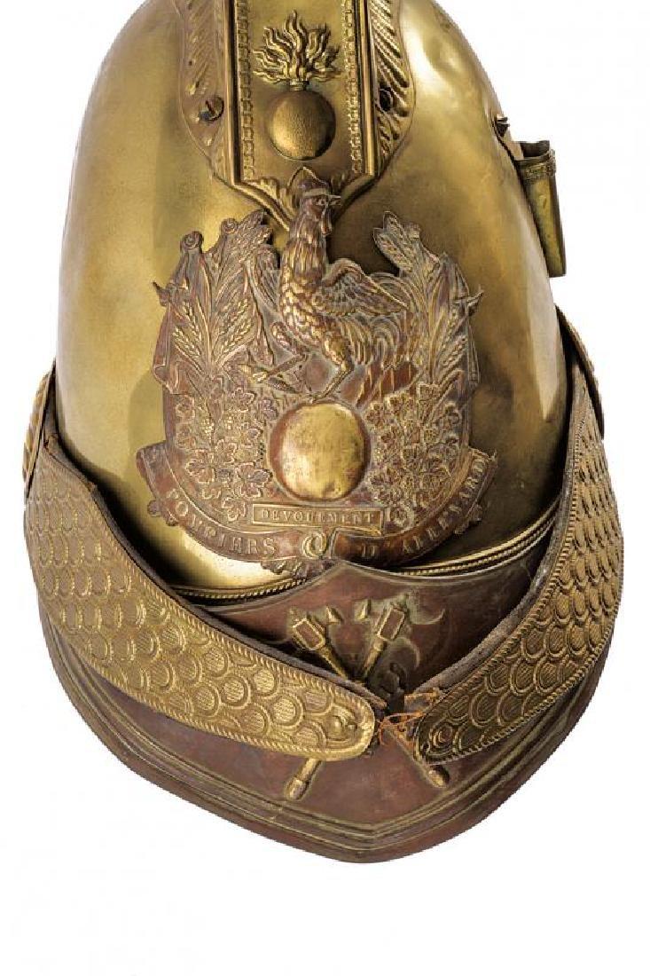 A fire-fighter's helmet - 2