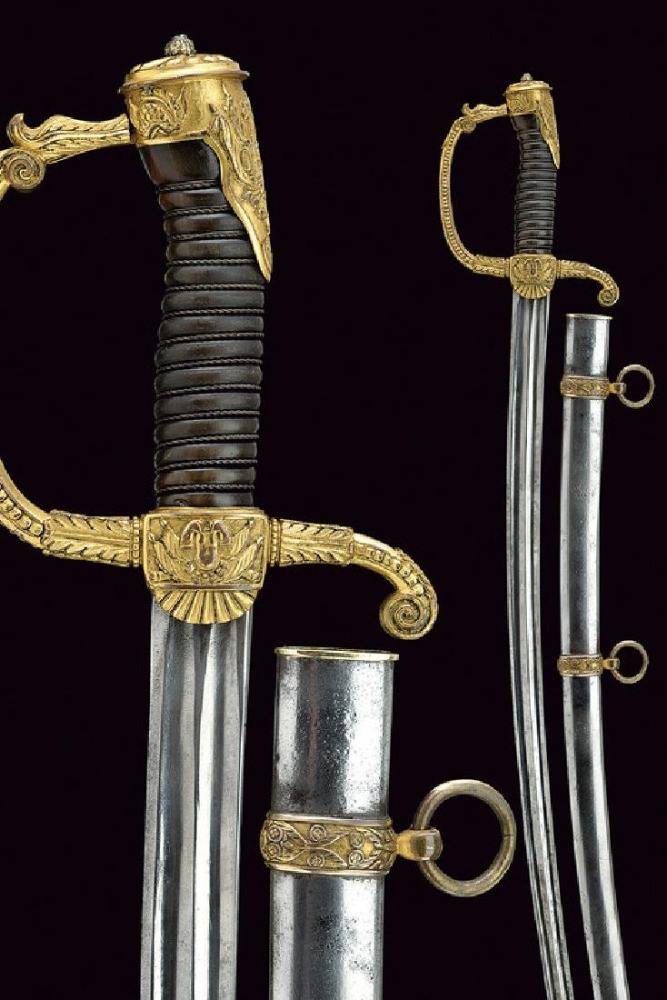 An interesting officer's sabre