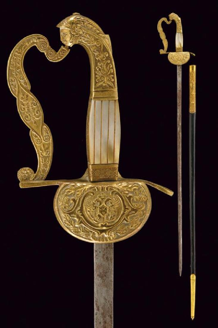 A small sword