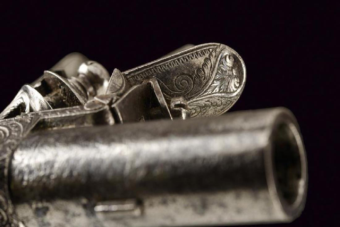A pair of flintlock pocket pistols from the manufacture - 2