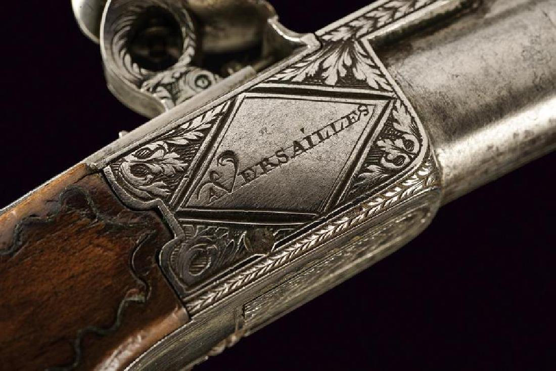 A pair of flintlock pocket pistols from the manufacture - 6