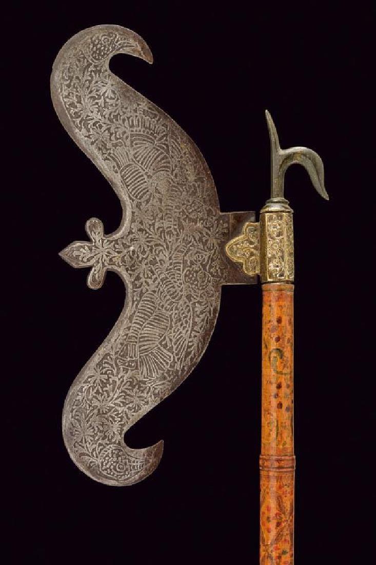 An axe head with ankus - 2