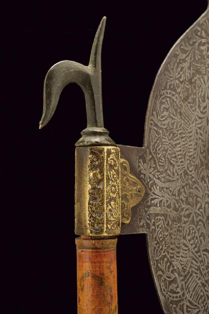 An axe head with ankus - 3