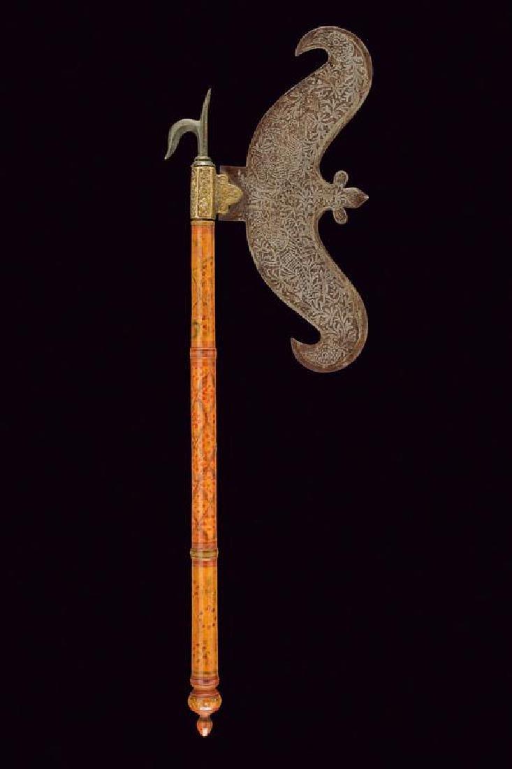 An axe head with ankus - 5
