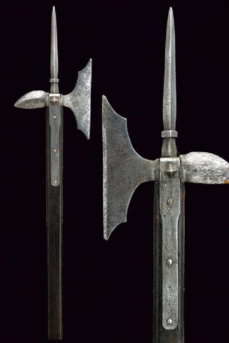A rare infantry war axe