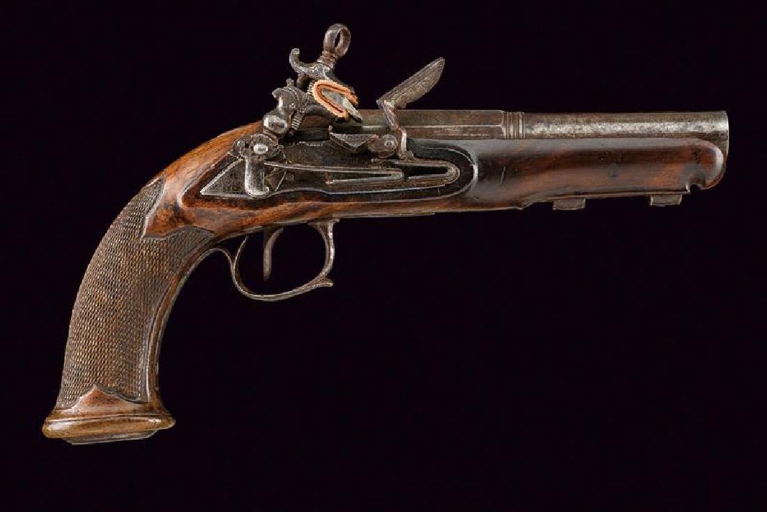 A miquelet flintlock pistol