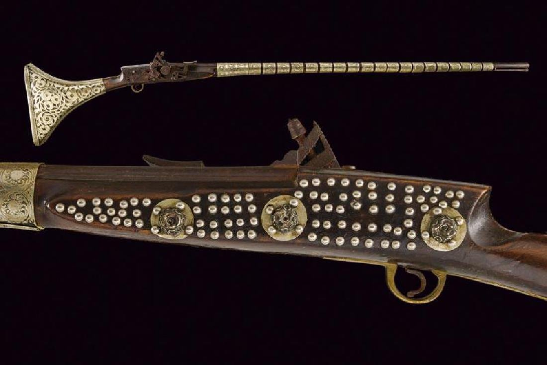 A snaphaunce flintlock gun
