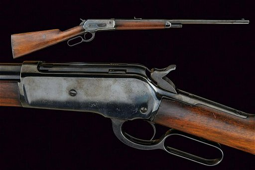 A rare Winchester Model 1886 Rifle in 50 Express