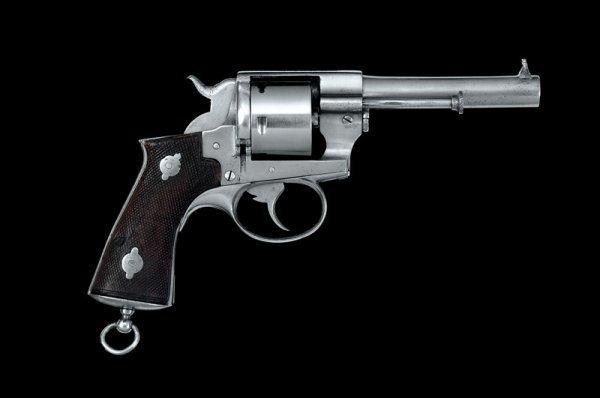 1274: A 1870 Model Lefaucheux revolver - 2