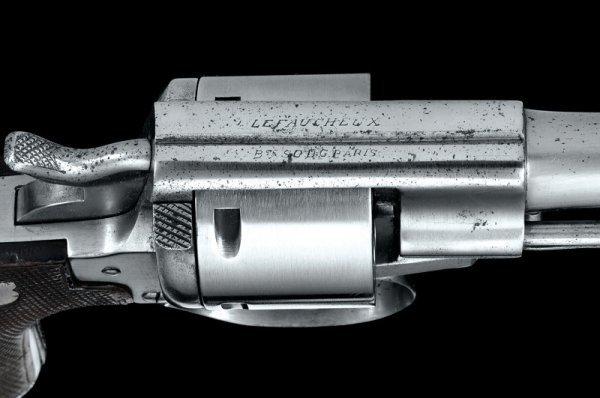 1274: A 1870 Model Lefaucheux revolver - 4