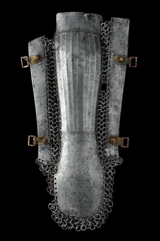 6: A rare buturlik with inscriptions