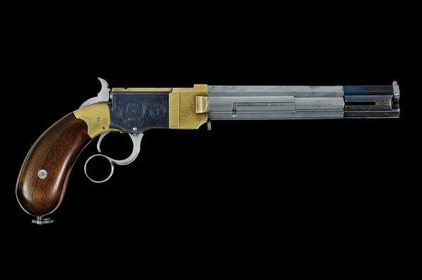 136: A Venditti prototype pistol - 2