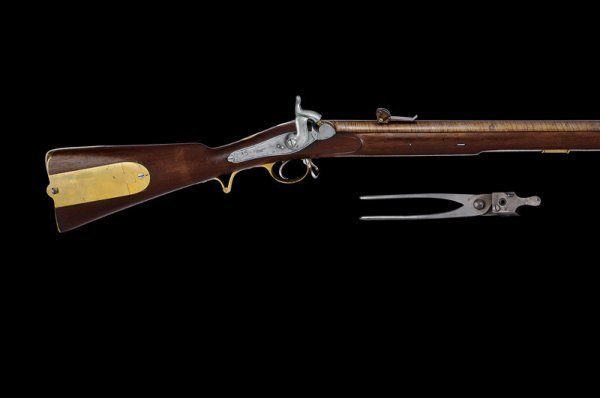 351: Russian carabine mod.1843 for Finnish snipers