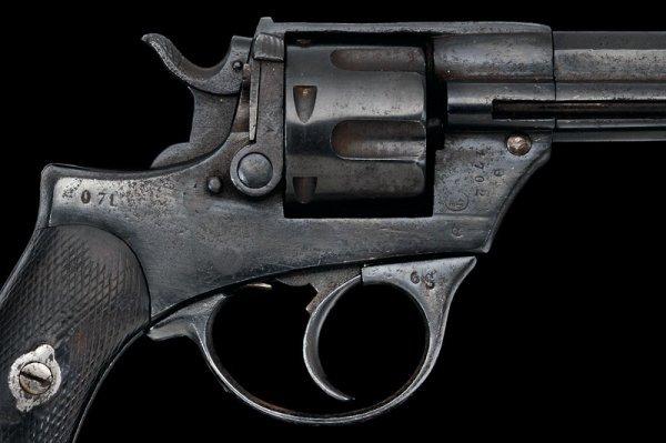 1308: A 1874 model Glisenti military revolver - 3
