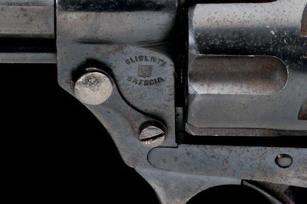 1308: A 1874 model Glisenti military revolver - 4
