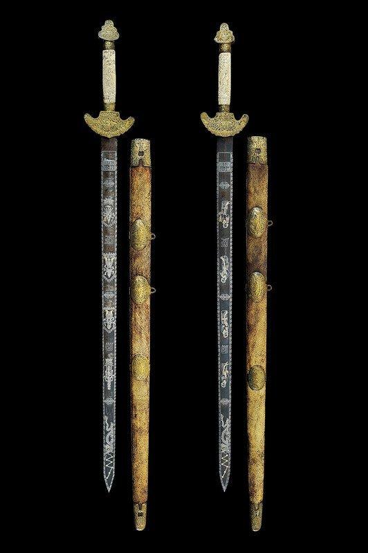 1342: A pair of jian (swords)