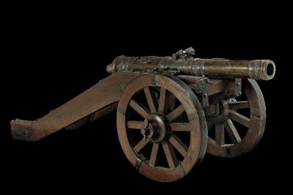 1348: A fine cannon model