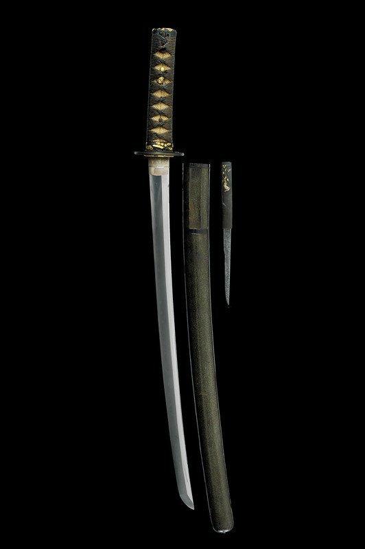 1350: A wakizashi