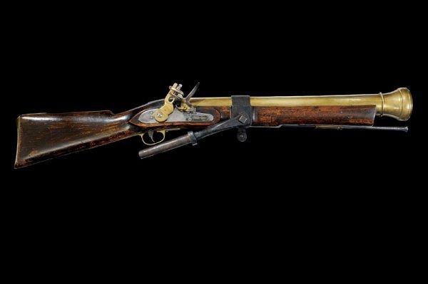 2: A flintlock wall-gun