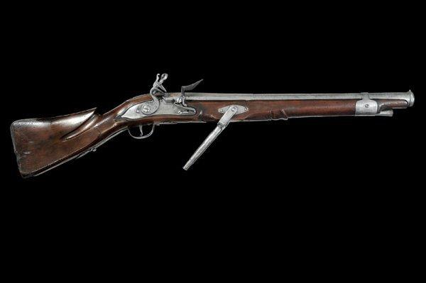 3: A flintlock wall-gun