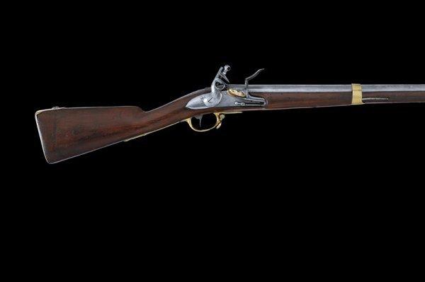 7: A 1779/86 model flintlock gun