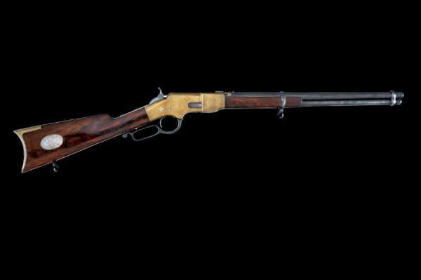 10: A 1866 Winchester type musket