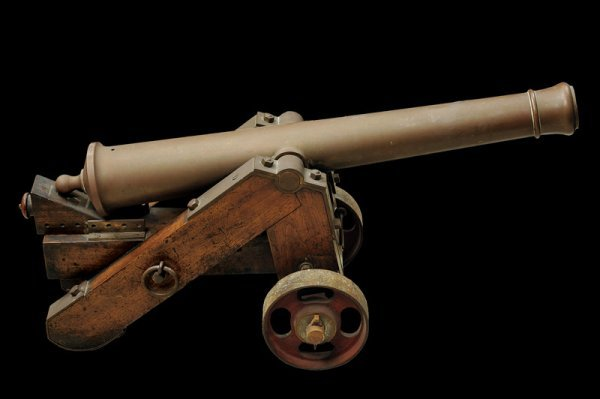 22: A small cannon