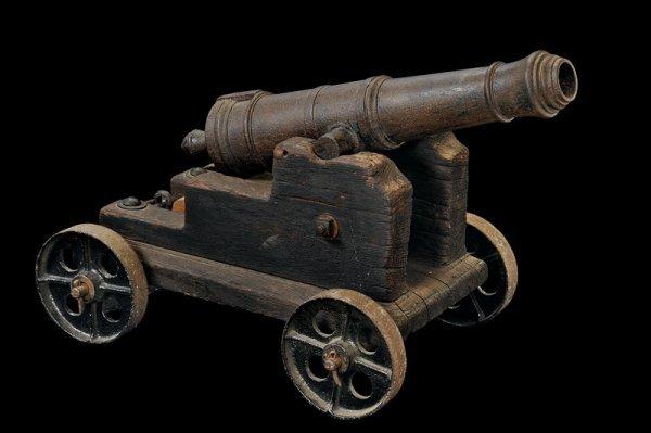 23: A small cannon
