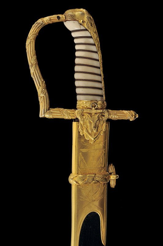 700: An honour sabre given to Commander Thomas Musgrave - 5
