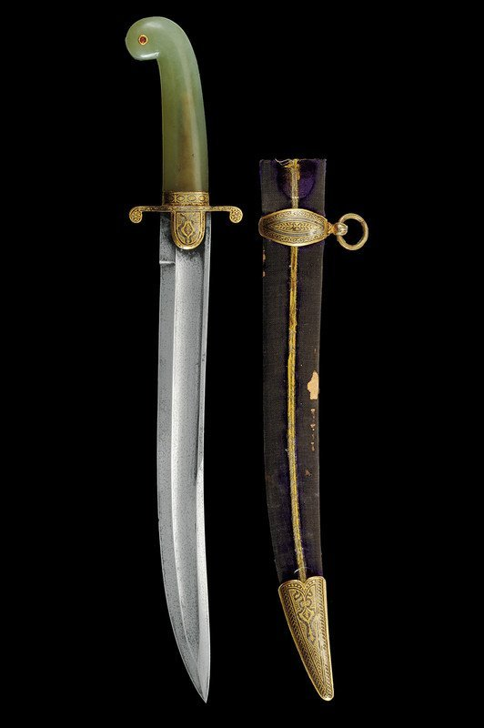 867: A fine dagger in Indian style