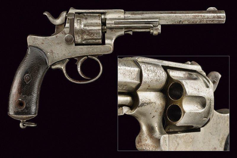A 1886 model Abadie Revolver