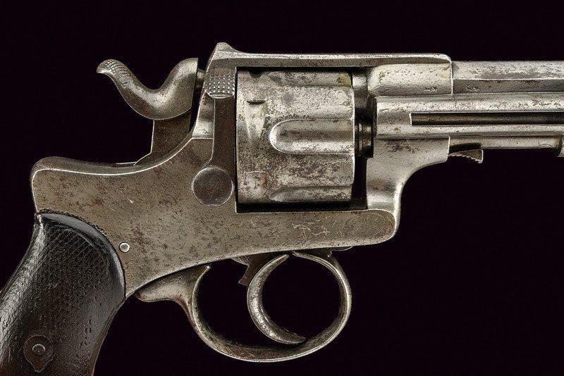 A 1886 model Abadie Revolver - 2