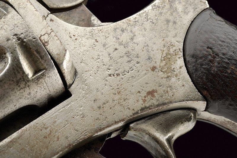 A 1886 model Abadie Revolver - 4