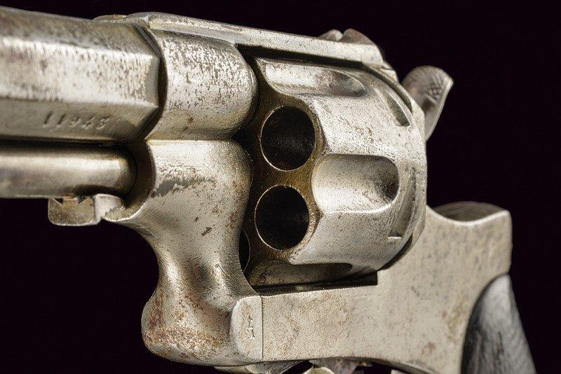 A 1886 model Abadie Revolver - 5