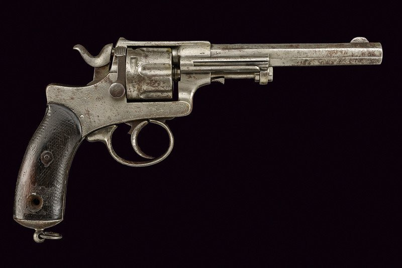 A 1886 model Abadie Revolver - 6