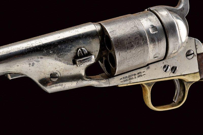 A rare Richard Conversion Colt 1860 model Army revolver - 2