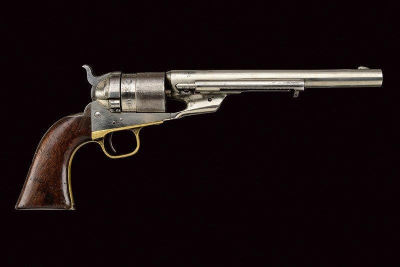 A rare Richard Conversion Colt 1860 model Army revolver - 3