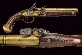 A Navy Officer's Flintlock Pistol