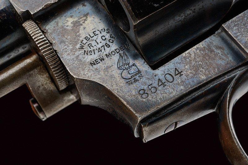 A cased Webley RIC No.1 New Model revolver - 4