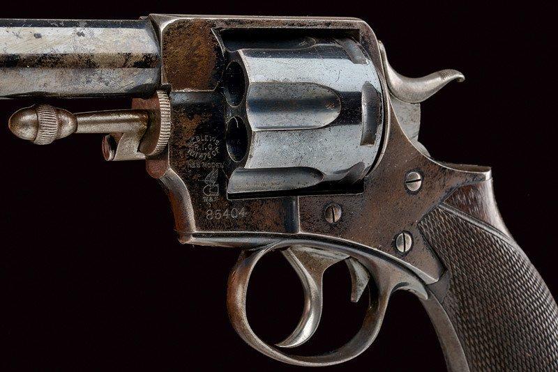 A cased Webley RIC No.1 New Model revolver - 5