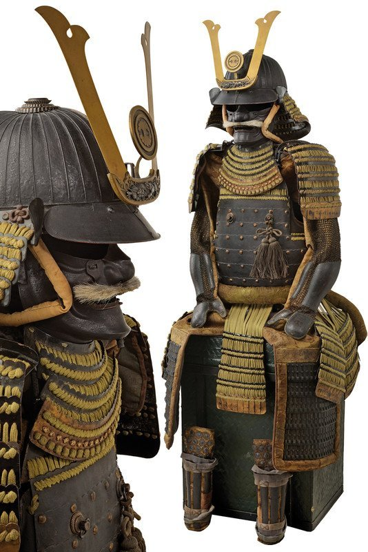 An important Tosei-Gusoku suit of armor