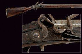 A Jager Flintlock Rifle
