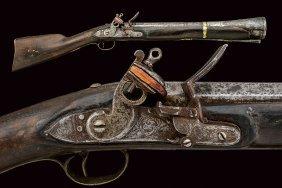 A Blunderbuss Flintlock Gun