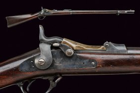 An 1884 Model Springfield Breech Loading Rifle